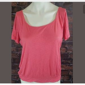 BKE the Buckle Knit Top Blouse Tee Size Small